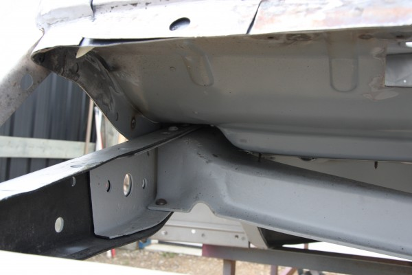Reproduction panels for 1934 ford floor pan