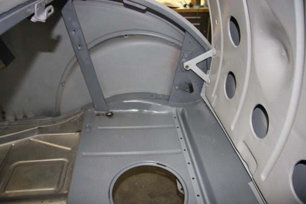 Rumble Seat And Trunk Area
